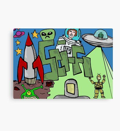 Science fiction Canvas Print