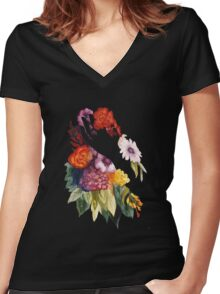 Inner Beauty Women's Fitted V-Neck T-Shirt