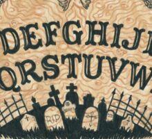 Angel of Death Ouija Board Sticker