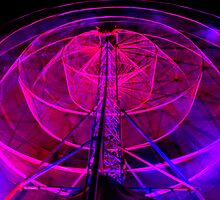 Wheel of Light - Dark Mofo 2014 by clickedbynic
