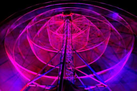 Wheel of Light - Dark Mofo 2014 by clickedbynic