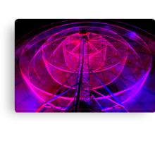 Wheel of Light - Dark Mofo 2014 Canvas Print