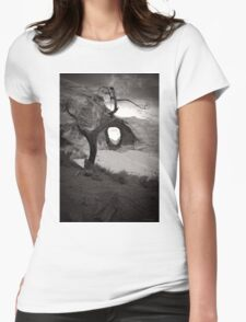 Nearer To Thee Womens Fitted T-Shirt