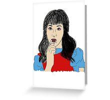 Melanie Martinez, Alphabet Boy - Cry Baby Greeting Card