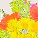 Abstract Flowers by Shulie1