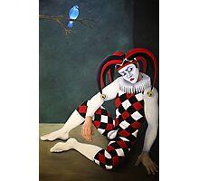 The Broken Hearted Joker Photographic Print