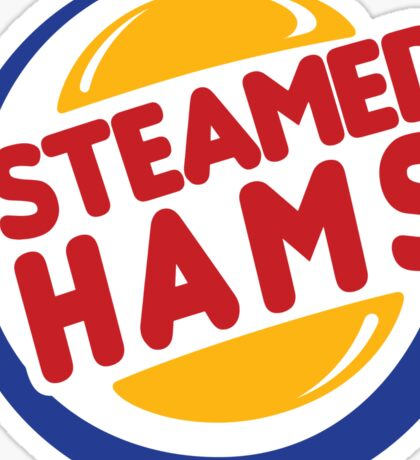 Steamed Hams Sticker
