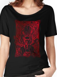 Cthulhu Howard Phillips Lovecraft HP historical society Women's Relaxed Fit T-Shirt