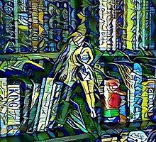 Deep Style Bookshelf Barbie by LozMac