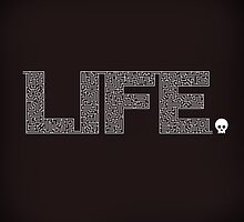 Life is Amazing by thepapercrane