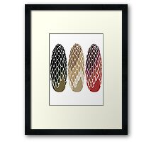 Game of Thrones - Dragon Eggs Framed Print