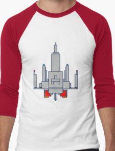 Space Invader Men's Baseball ¾ T-Shirt