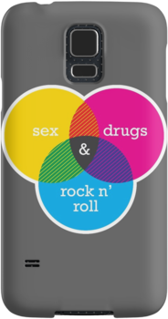 Sex, drugs and Rock n' Roll Venn Diagram by mikewirth