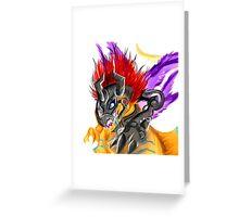 MetalGreymon Greeting Card