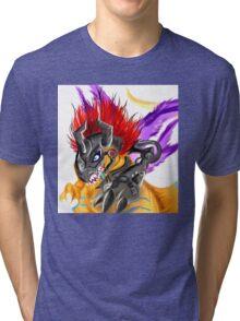 MetalGreymon Tri-blend T-Shirt