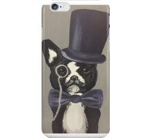 Sir Terrier of the Boston iPhone Case/Skin