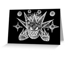 mega gengar Greeting Card
