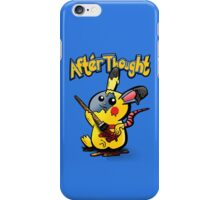 Thunder Mouse... Suit Up!! iPhone Case/Skin