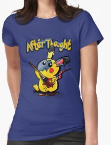 Thunder Mouse... Suit Up!! Womens Fitted T-Shirt