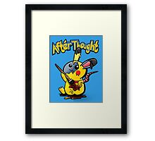 Thunder Mouse... Suit Up!! Framed Print