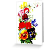 """""""FLOWER SEED"""" Catalogue Advertising Print Greeting Card"""