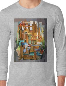Collage Construct No. 1 Long Sleeve T-Shirt