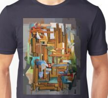 Collage Construct No. 1 Unisex T-Shirt