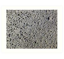 Porous Rock Art Print