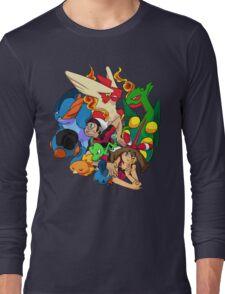 Pokemon ROSA - Hoenn Confirmed Long Sleeve T-Shirt