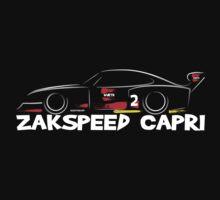 Zakspeed Ford Capri by velocitygallery