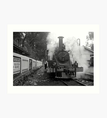 Puffing Billy Art Print