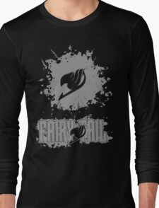 Fairy Tail Splash #2 Version (Grey) Long Sleeve T-Shirt