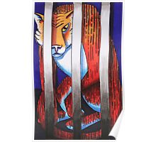 Caged Animal Poster