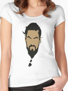 Game of Thrones - Khal Drogo Women's Fitted Scoop T-Shirt