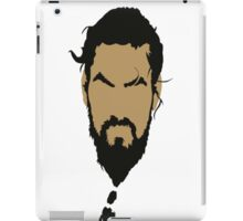 Game of Thrones - Khal Drogo iPad Case/Skin