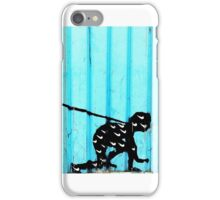 Man on a Leash iPhone Case/Skin