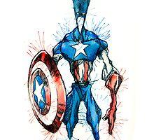 Captain America by NicolaGirello