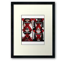 My Chemical Romance - Exterminate Framed Print