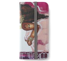 A KEY GIRL iPhone Wallet/Case/Skin