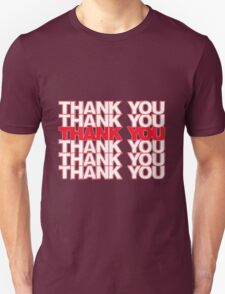 Thank You Plastic Bag Unisex T-Shirt