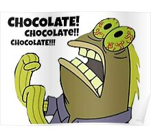 Chocolate Spongebob Poster