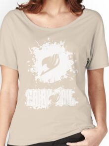 Fairy Tail Splash #2 Version (White) Women's Relaxed Fit T-Shirt