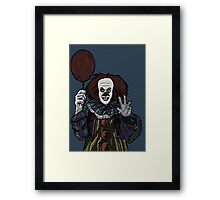 Pennywise the Clown, From Stephen King's IT Framed Print