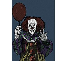 Pennywise the Clown, From Stephen King's IT Photographic Print