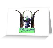 Kuri'au Greeting Card