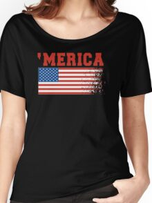 'Merica Women's Relaxed Fit T-Shirt