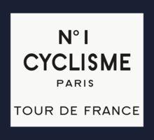 Tour de France Cycling Paris Kids Clothes