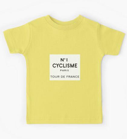 Tour de France Cycling Paris Kids Tee