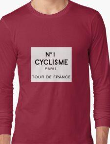 Tour de France Cycling Paris Long Sleeve T-Shirt
