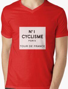 Tour de France Cycling Paris Mens V-Neck T-Shirt